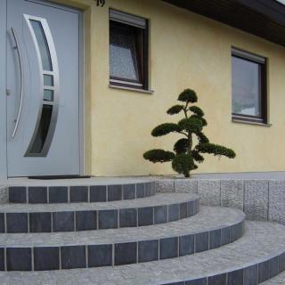 Hauseingang Gestalten Beispiele naturstein wolf eingänge und podeste mit naturstein gestalten