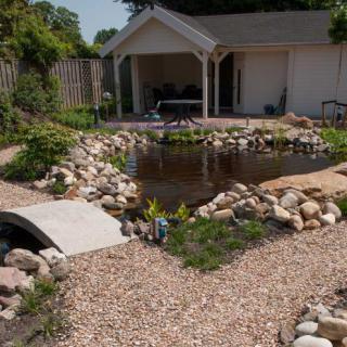 Naturstein wolf gartenteichgestaltung mit naturstein und for Gartenteich gestaltung