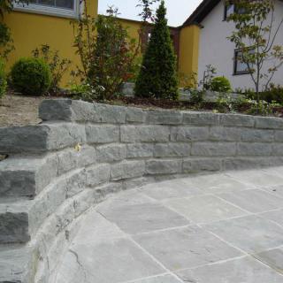 naturstein wolf - gartengestaltung mit natursteinmauern, Best garten ideen