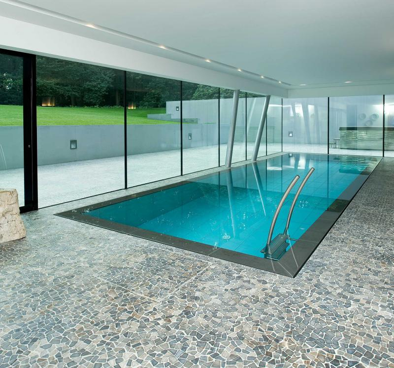 Naturstein wolf poolgestaltung mit natursteinen aus aller welt - Schwimmbad mosaik ...